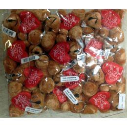 108 Bulk Teddy Bear I Love You Key Chain 4 Inch