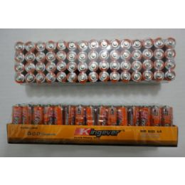 10 Bulk 60pk Aa BatterieS-Kingever
