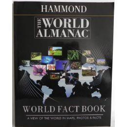 24 Bulk Hammond The World Almanac World Fact Book: A View Of The World In Maps, Photos, & Facts