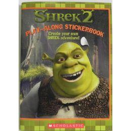 50 Bulk Shrek2 Play Along Sticker Book
