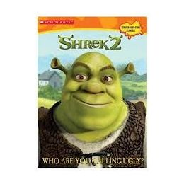 50 Bulk Shrek2 Who Are You Calling Ugly Sticker And Coloring Book