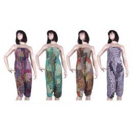 48 Bulk Ladies Jumper Suit Romper
