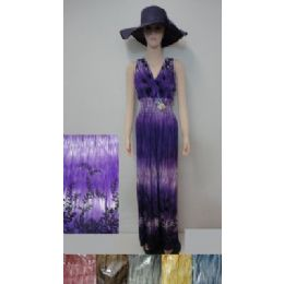 36 Bulk Beach Dress [long]-Tie Dye