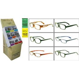 300 Bulk Plastic Asst Reading Glasses W/ Display