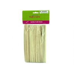 75 Bulk Jumbo Wood Craft Sticks