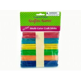 75 Bulk MultI-Color Craft Sticks