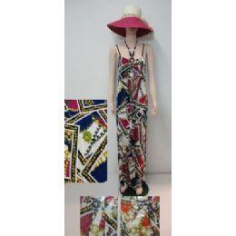 72 Bulk Beach Dress [long]-Chain Link & Flowers