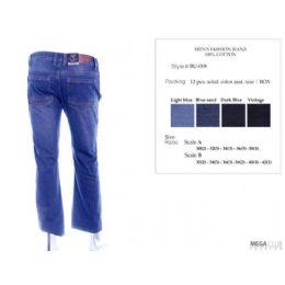 12 Bulk Mens Trendy Jeans Sizes 32-42