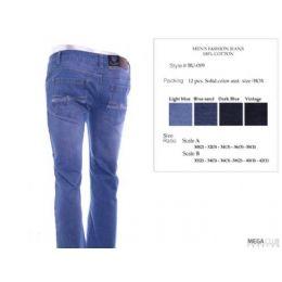12 Bulk Mens Trendy Jeans Sizes 30-38