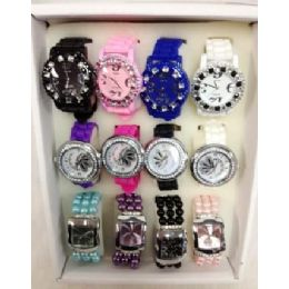 60 Bulk Lot Watches Silicone Fashion Watches