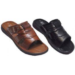 18 Bulk Mens Sandal With Open Back