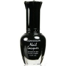 60 Bulk Klean Color Nail Poilsh Number 05 Black