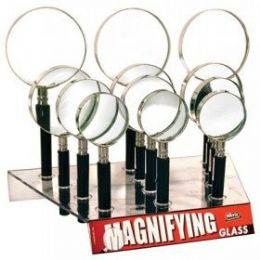 48 Bulk Seevix Magnifying Glasses 12ct