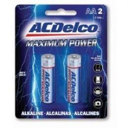 48 Bulk Acdelco Alkaline Aa - 2 Piece