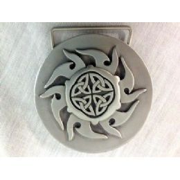 36 Bulk Flame Style Belt Buckle