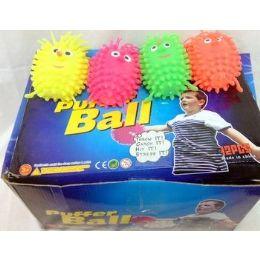 48 Bulk 36 Pcs Light Up Spike Ball Assorted Color