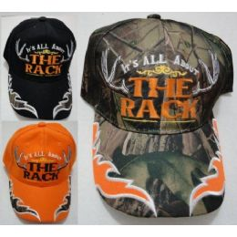 """24 Bulk It""""s All About The Rack Hat"""