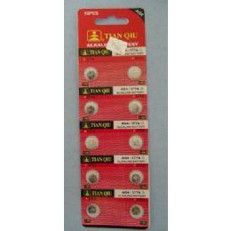 60 Bulk 10pk Ag4 Batteries