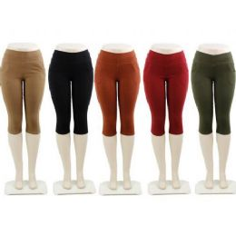 48 Bulk Ladies Capri Pants