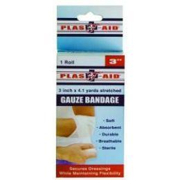 """72 Bulk Gauze Bandage 3"""" X 4.1 Yards"""