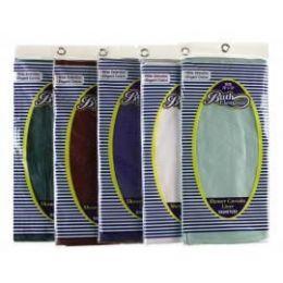 "72 Bulk Shower Curtain Liner W/grommets & Magnets 70"" X 72"""
