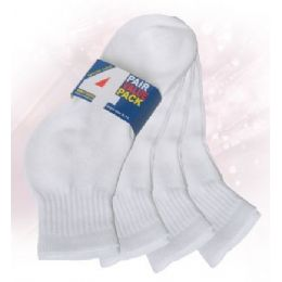 48 Bulk Boys Ankle Sock 4 Pack