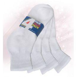 48 Bulk Boys Ankle Sock 4 Pack