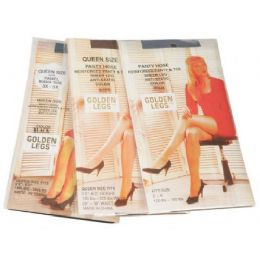 72 Bulk Golden Legs Sheer Pantyhose In Navy