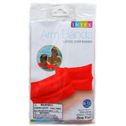 36 Bulk Large Arm Bands In Peggable Polybag