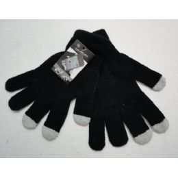 120 Bulk Wholesale Texting Gloves Lady's Size Black Color