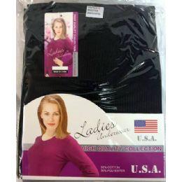 24 Bulk Lady's Thermal Wear Set (shirt & Pants)