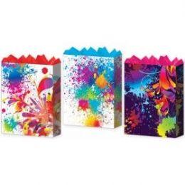 144 Bulk GifT-Bag Jumbo Girls Splash Mania 3 Styles