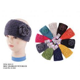 48 Bulk Headband With Beads