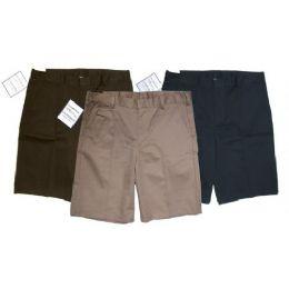 24 Bulk Boys Husky School Shorts