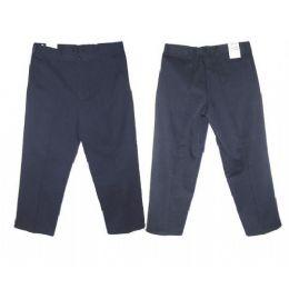 30 Bulk Boys Husky Regular School Uniform Twill Pant