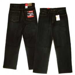 18 Bulk Big Men's 5-Pocket Ring Spun Denim Jeans