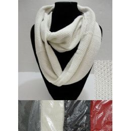 72 Bulk Knitted Loop Scarf [tight Knit]