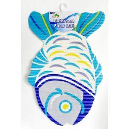 48 Bulk NoN-Slip Fish Shape Bath Mat