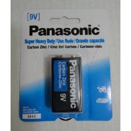 48 Bulk Panasonic 9v Battery
