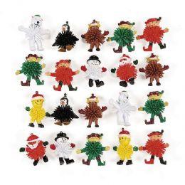 72 Bulk Winter Wooly Man Toy