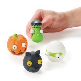 72 Bulk Halloween PoP-Out Eyes Toy