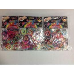 144 Bulk 300 Pc Count Loom Bands Asst Colors