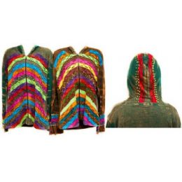 12 Bulk Nepal Handmade Cotton Jackets With Hood