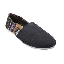 36 Bulk Girls' Canvas Shoes Black Only