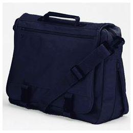 12 Bulk Goh Getter Expandable Briefcase - Navy