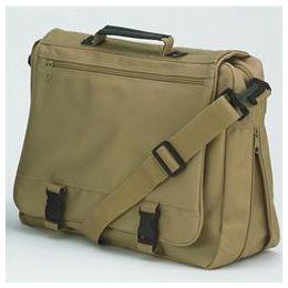 12 Bulk Goh Getter Expandable Briefcase - Tan