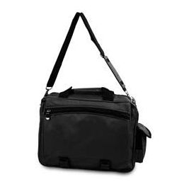 24 Bulk Newton Briefcase - Black