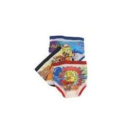 72 Bulk Assorted Licensed Boy's Character Briefs 3 Pack