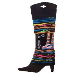 60 Bulk Women's Patterned Legwarmers