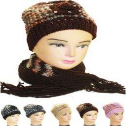 36 Bulk Woman Winter Hat 2pc